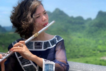 Flautist makesher first album in the US