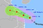 Bão số 6 đi nhanh, giật cấp 10, miền Trung có nơi mưa trên 300mm