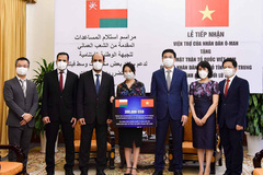 Oman ủng hộ miền Trung phòng chống bão lũ