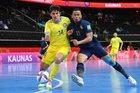 Thái Lan thảm bại ở vòng 1/8 World Cup Futsal