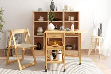Mẫu bàn ăn thông minh siêu gọn cho căn hộ nhỏ nhìn muốn 'chạy ngay đi mua'