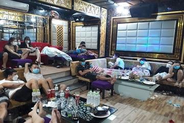 54 nam, nữ tụ tập hát karaoke và sử dụng ma túy ở Quảng Nam