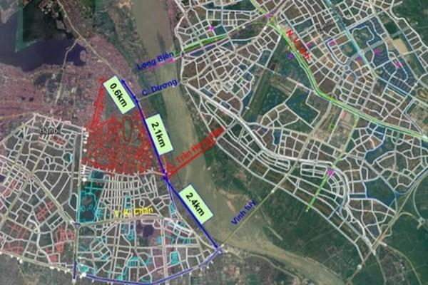 Hà Nội: Cầu Trần Hưng Đạo chưa duyệt, 'cò đất' đã rầm rộ thổi giá ăn theo