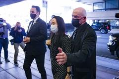 'Công chúa Huawei' được tự do, lập tức trở về Trung Quốc