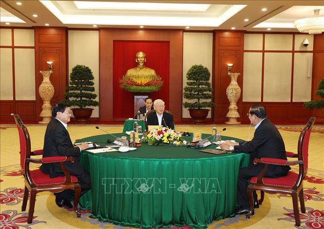 Cuộc gặp cấp cao Việt Nam - Campuchia - Lào