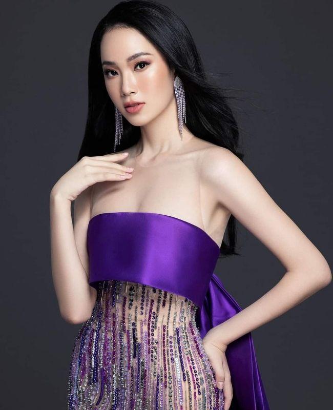 Ái Nhi đại diện Việt Nam tham dự Hoa hậu Liên lục địa 2021