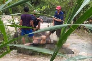 Ba bố con ở Gia Lai bị nước cuốn tử vong
