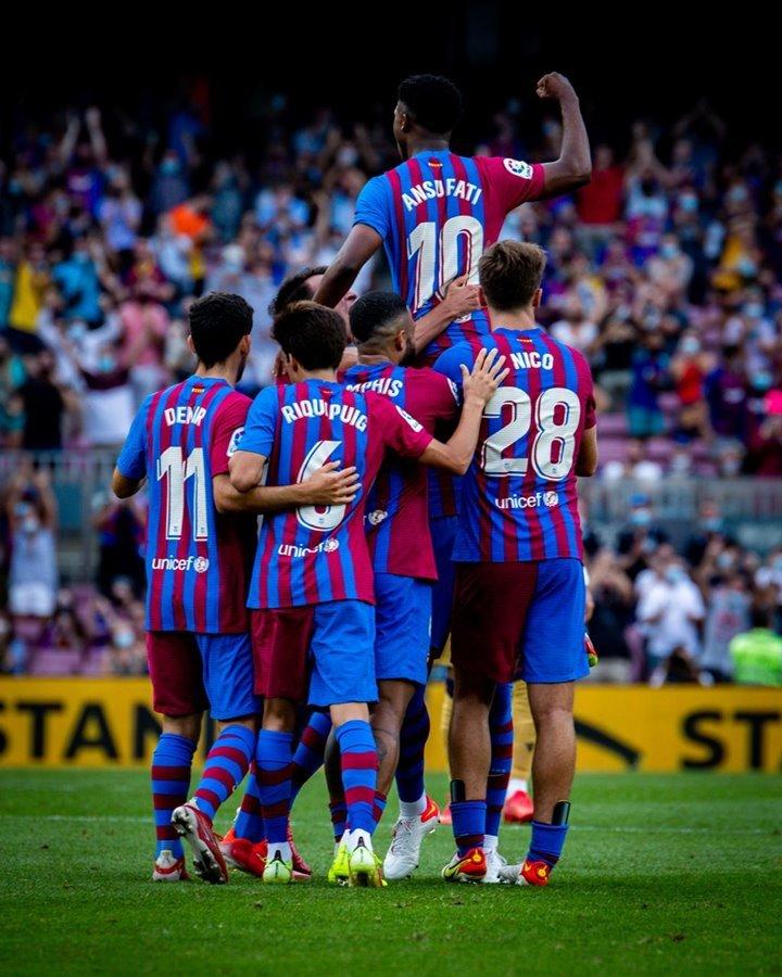 Barca thắng tưng bừng khi không có HLV Ronald Koeman