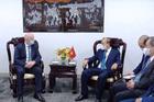Chủ tịch nước đề nghị FIFA tiếp tục hợp tác và hỗ trợ bóng đá Việt Nam