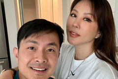 Hoa hậu Thu Hoài và chồng kém 10 tuổi hưởng hạnh phúc ngọt ngào