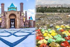 Cảnh hoang tàn ở công viên giải trí hàng trăm triệu đô lớn nhất châu Âu