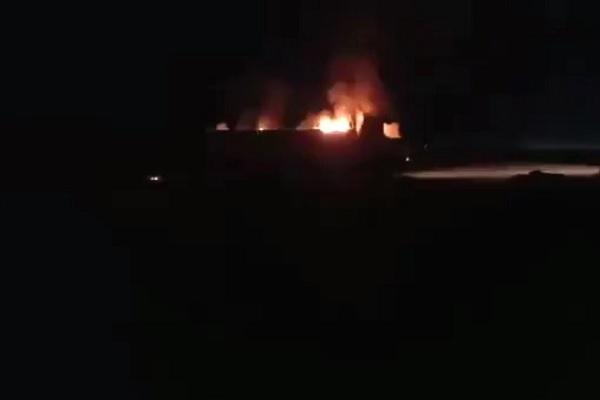 Căn cứ dân quân Iran hậu thuẫn tại Syria bị máy bay lạ tấn công