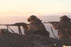 Xem lính thủy đánh bộ Nga tập trận chiến thuật gần Bắc Cực