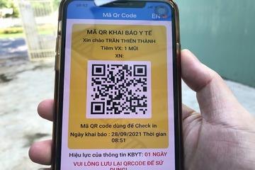 Đà Nẵng tích hợp thông tin tiêm chủng vào mã QR, người dân dễ dàng đi lại