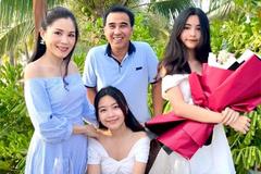 Quyền Linh trở về với vợ con sau 4 tháng rong ruổi từ thiện