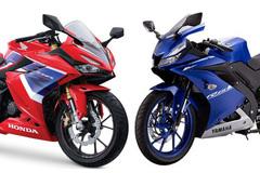 Hơn 70 triệu: Chọn mua mô tô Honda CBR150R hay Yamaha R15?
