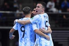 Thắng nghẹt thở Brazil, Argentina vào chung kết World Cup Futsal