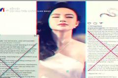 Angela Phương Trinh, Lê Bê La bị VTV điểm danh trong 'Dọn rác trên không gian mạng'