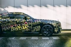 Rolls-Royce tiết lộ mẫu xe điện đầu tiên