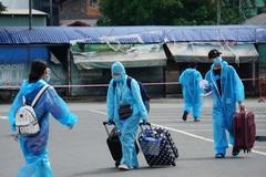 Đón thêm 800 người dân về quê, Phú Yên kết thúc hành trình chuyến xe nghĩa tình