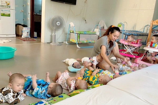 The woman who is mother to hundreds of abandoned children