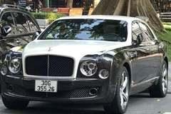 Phát hiện siêu xe Bentley đeo biển kiểm soát giả ở Hà Nội
