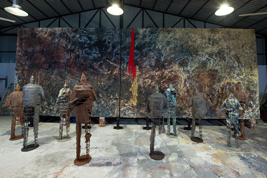 Triển lãm cá nhân đầu tiên của nghệ sĩ Việt Nam tại Ý