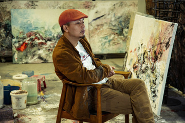 The first solo exhibition of a Vietnamese artist in Italy