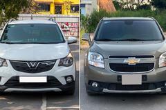 400 triệu: Mua Vinfast Fadil hay Chevrolet Orlando 7 chỗ đời 2018?