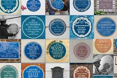 Bí mật sau những tấm bảng xanh được gắn khắp nước Anh