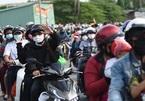 Người lao động ở Đồng Nai, Bình Dương reo vui khi được về quê