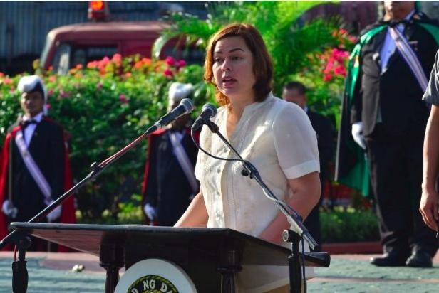 La talentosa hija del presidente filipino Duterte