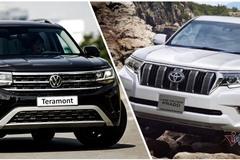 Giá trên 2 tỷ, chọn Toyota Prado hay Volkswagen Teramont mới ra mắt?