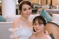 Con gái 18 tuổi xinh đẹp của diễn viên Mai Thu Huyền và chồng đại gia