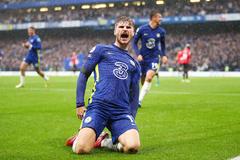 Timo Werner lập đại công, Chelsea lên đầu bảng
