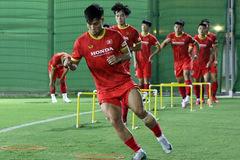 Văn Thanh trở lại, tuyển Việt Nam tăng tốc tập luyện