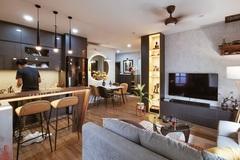 Bản giao hưởng của hai phong cách thiết kế trong căn hộ 69m2 ở Hà Nội