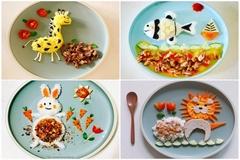Những bữa cơm ngộ nghĩnh 'trị' chứng biếng ăn cho con của người mẹ trẻ