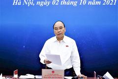 Chủ tịch nước Nguyễn Xuân Phúc: Không giãn cách diện rộng, địa phương không được cát cứ