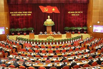 Hội nghị Trung ương thảo luận về tăng cường xây dựng, chỉnh đốn Đảng