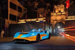 Ngắm siêu xe McLaren nhẹ nhất trên đường phố Hà Nội