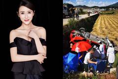 Diễn viên Lý Hy Nhi 'Tân Thủy Hử' bị tai nạn ô tô, phải khâu 54 mũi