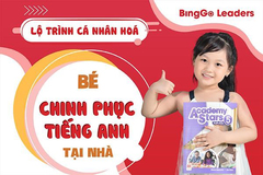 Lộ trình các khóa học tại hệ thống tiếng Anh trẻ em BingGo Leaders