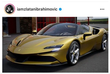 Ibrahimovic mua siêu xe Ferrari SF90 Stradale mừng sinh nhật 40 tuổi