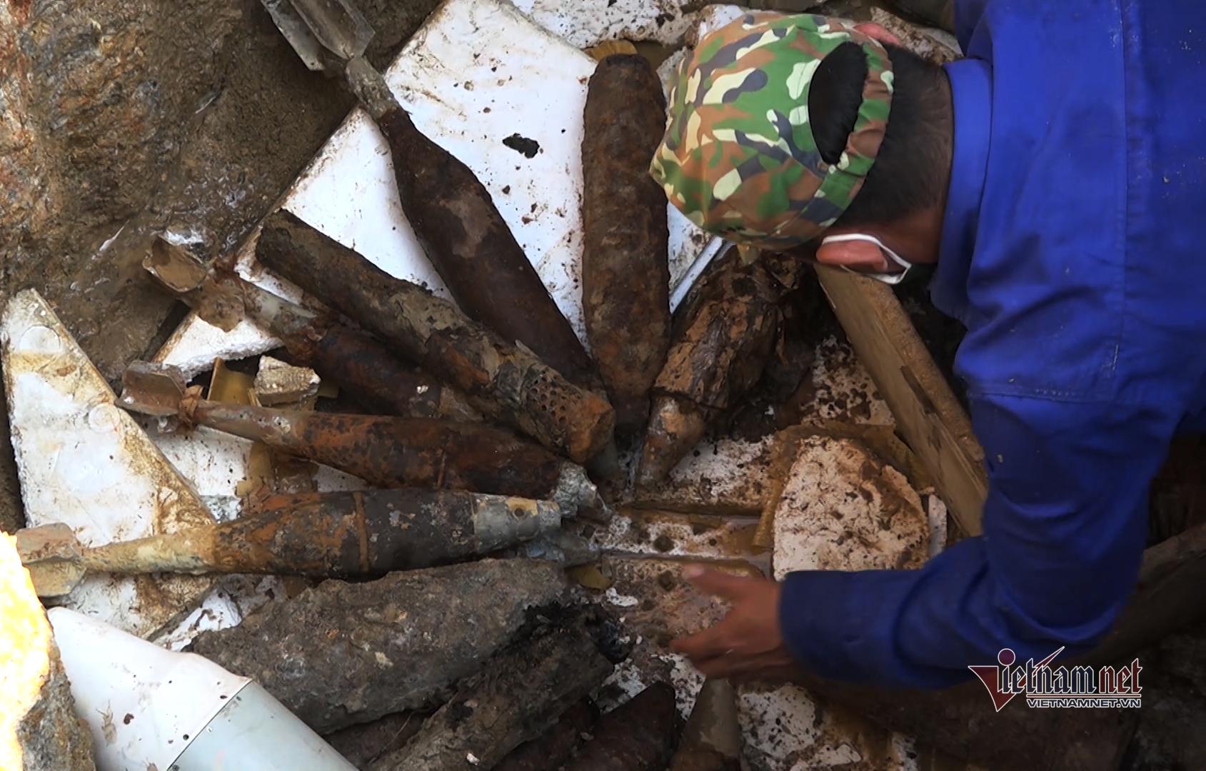 Đà Nẵng hủy nổ hơn 3 tấn bom mìn sót lại sau chiến tranh