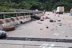 Trên đường về quê, hai mẹ con người Thanh Hóa bị tai nạn tử vong