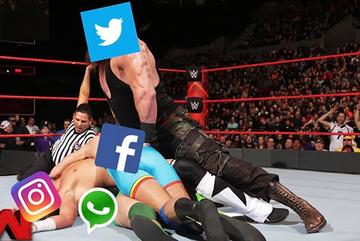 Dân mạng đua nhau chế ảnh về sự cố 'mất mặt' của Facebook