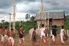 Lễ hội Mở cửa kho lúa: Người Rơ Măm báo ơn với Giàng, đánh dấu một mùa vụ đã xong