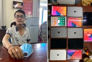 Nhân viên giao hàng chiếm đoạt 12 máy tính bảng của khách đi cầm cố