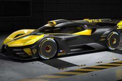 Bugatti Bolide được vinh danh là siêu xe đẹp nhất thế giới